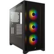 iCUE 4000X RGB Tempered Glassシリーズ