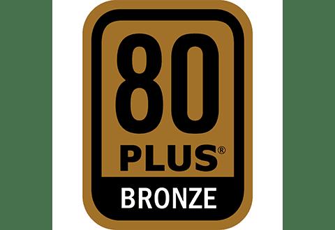 80PLUS BRONZE認証取得の高効率設計