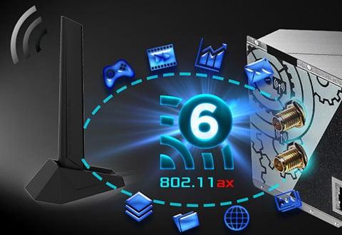 2.5ギガビットLANとIntel LANを装備