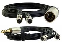 LCDシリーズ専用の高品質ヘッドフォンケーブルを付属