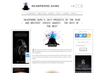 Writer's Choice Award(Headphone.Guru)