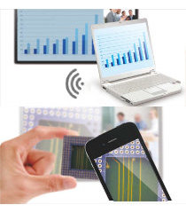 PCやスマートフォンとワイヤレス連携