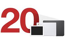 最大20台までのタブレットやノートPCを充電、収納可能