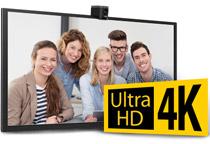 4K Ultra HDの映像出力に対応