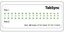 リアルタイムのステータス表示パネルを搭載