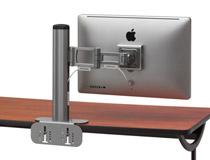 Bretford製モニターアームに対応した設置用クランプ