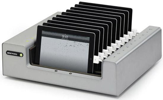 最大10台のiOSデバイスを一括管理