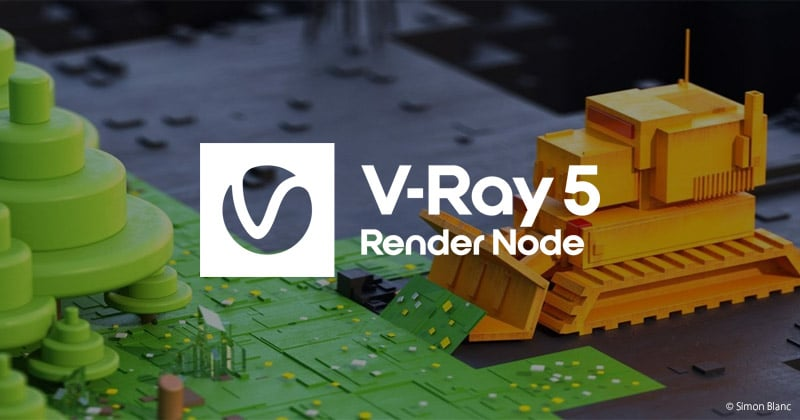 V-Ray 5 Render Node