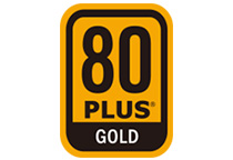 80PLUS GOLD認証取得の高効率設計
