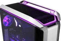 発光パターンの切替ができるRGBライトを装備
