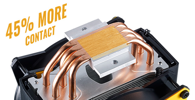 冷却効率を高めるCDC技術を採用