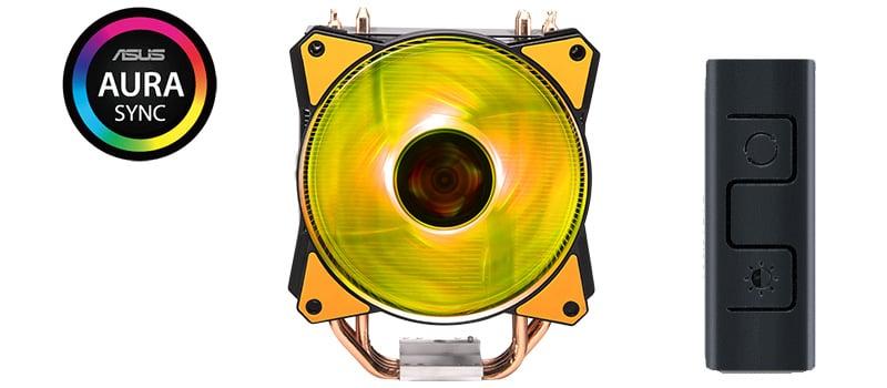 カスタマイズ可能なRGBファンを搭載