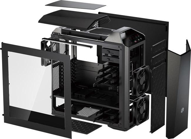 豊富なアクセサリで自由にカスタマイズ、自在にアップグレードできる新発想のモジュラー系PCケース