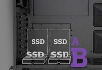 簡単にSSDをマウントできる「スリップ・アンド・クリップポケット」