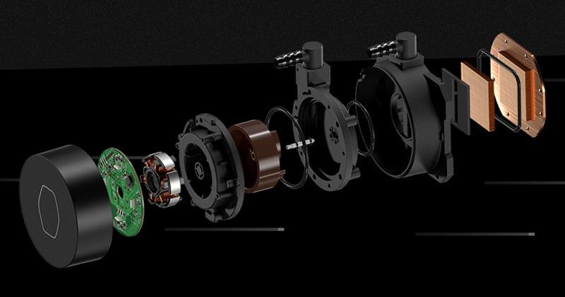 改良された新設計のデュアルチャンバーポンプを採用