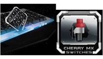 Cherry MX赤軸スイッチを採用