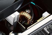 安定した動作を実現するDC-DCコンバータを採用