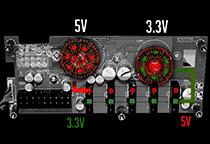 独自のV Series DC-DCモジュール設計
