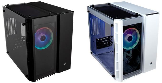 LL120 RGBファンを2基標準装備(RGBモデルのみ)
