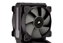 効率的な冷却を実現する120mm静圧ファンを2基搭載