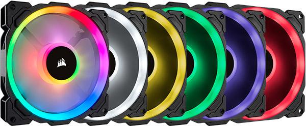 無限のカスタマイズを実現するRGB LEDを搭載