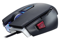 スナイパーボタンを含め8個のプログラマブルボタンを搭載