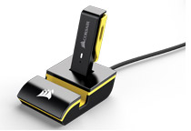 USBレシーバー用ドック付属
