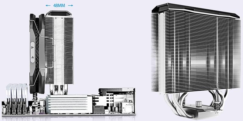 放熱効率を高める高密度フィン設計