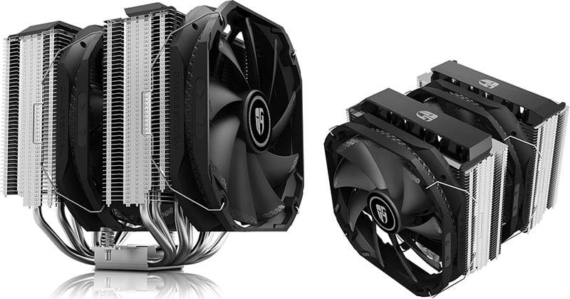 TDP 280Wまで対応した高冷却CPUクーラー