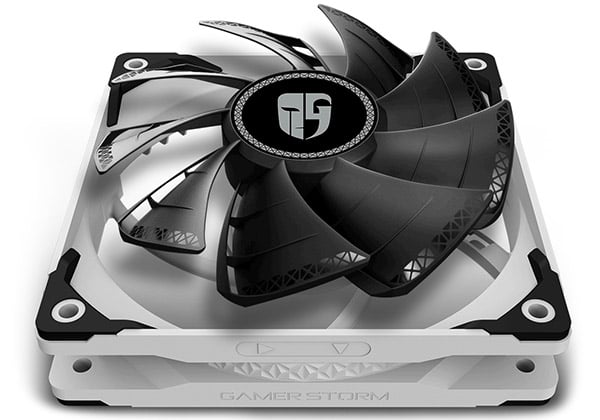 2層ファンブレードを備えたTF120 Sファン