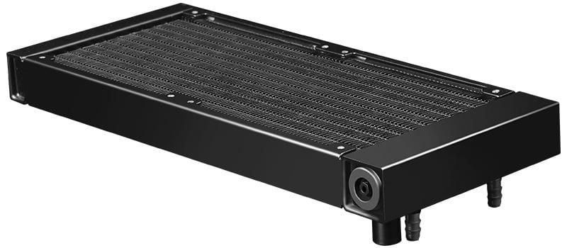 放熱効率に優れたラジエーターを採用