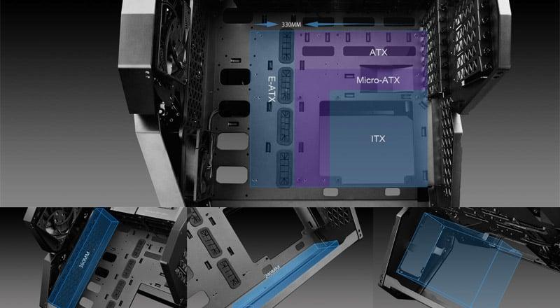 E-ATXマザーボードに対応