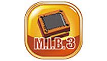 独自のオーバークロックユーティリティ「M.I.B. III」
