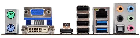 Intel H77 Express搭載、実用性の高いインターフェースを装備