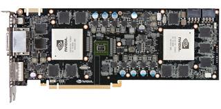 NVIDIA GeForce GTX 590を2基搭載