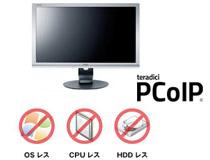 OS、CPU、HDDレスによる高いセキュリティを実現