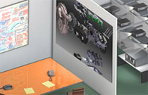 超高解像度ビジュアライゼーション環境に対応