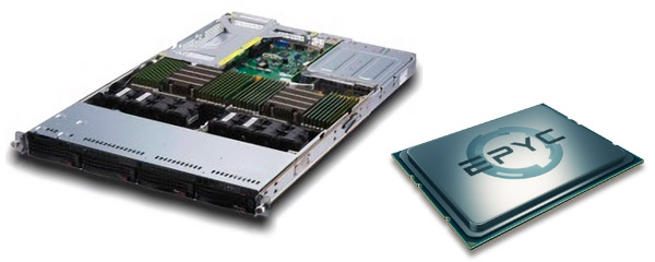 AMD EPYC 7000シリーズ搭載サーバー・ワークステーション