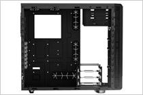 HDDケージの90度回転・取り外しに対応