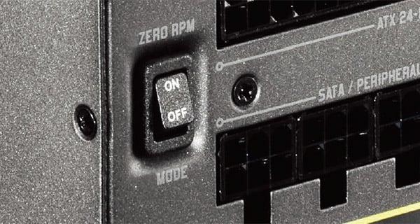セミファンレス動作のZero RPMモード