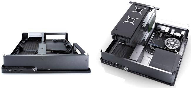 ケース内発熱に考慮されたスマートな内部設計