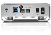 USB 3.0とFireWire 800に対応