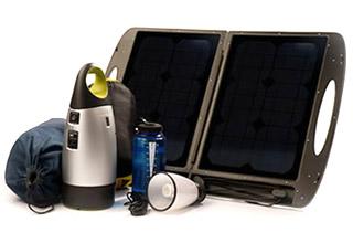 便利なブリーフケース型ソーラーパネル