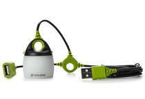 USB給電に対応するコンパクトなLEDランタン