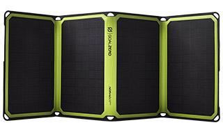 コンパクトに収納可能な高出力ソーラーパネル