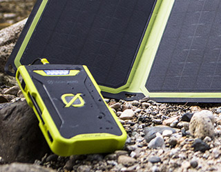 太陽光強度インジケータを搭載