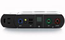 別売のインバーターでAC100V出力に対応
