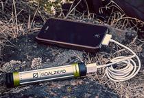 スマートフォン向けの小型モバイルバッテリー