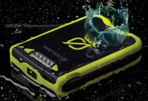 IPX6相当の耐水性と耐衝撃性に優れた設計