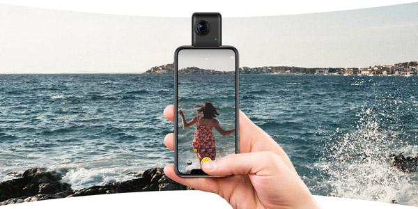 4K・2000万画素対応の高画質360度カメラ